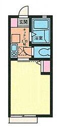 G・Aヒルズ三ツ沢下町[1階]の間取り