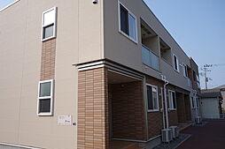 新潟県新発田市豊町1丁目の賃貸アパートの外観