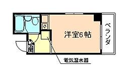メゾン宮田[4階]の間取り