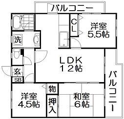 ローレルアベニュー[2階]の間取り