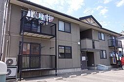 新潟県北蒲原郡聖籠町大字亀塚の賃貸アパートの外観
