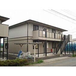栃木県小山市大字乙女の賃貸アパートの外観