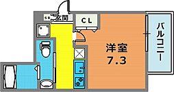 JPレジデンス神戸[705号室]の間取り
