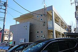 神奈川県川崎市多摩区菅馬場2丁目の賃貸アパートの外観