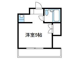 神奈川県座間市相模が丘4の賃貸マンションの間取り