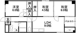 RITTO弐番館[1階]の間取り