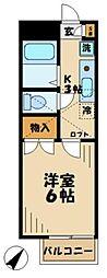 コープNK堀之内[1階]の間取り