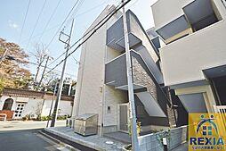 千葉県千葉市中央区長洲2丁目の賃貸アパートの外観