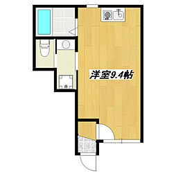 東京都葛飾区東新小岩6丁目の賃貸アパートの間取り