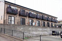 静岡県袋井市浅羽の賃貸アパートの外観