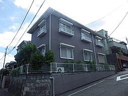 東京都八王子市子安町2丁目の賃貸アパートの外観