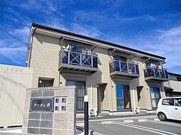 静岡県浜松市浜北区染地台4丁目の賃貸アパートの外観