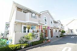 東京都羽村市緑ヶ丘4丁目の賃貸アパートの外観