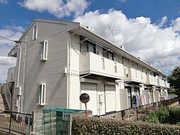 埼玉県所沢市岩岡町の賃貸アパートの外観