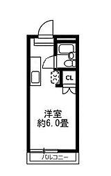 東京都杉並区久我山4丁目の賃貸アパートの間取り