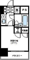 神奈川県横浜市神奈川区反町3丁目の賃貸マンションの間取り