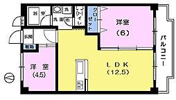 パークマンション[1階]の間取り