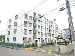 野川住宅1号棟[3階]の外観