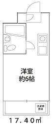 ドーミー小平[402号室]の間取り