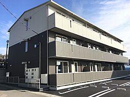 福島県郡山市富田町字下堰の賃貸アパートの外観