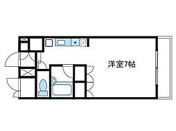 神奈川県厚木市中町4丁目の賃貸マンションの間取り