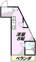菱光マンション[101号室]の間取り