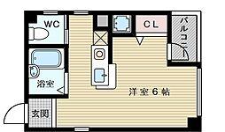 サンキャッスル菅原[3階]の間取り