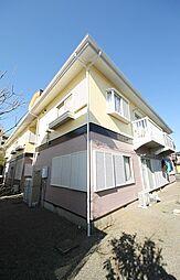 千葉県鎌ケ谷市東道野辺3丁目の賃貸アパートの外観