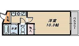 大阪府和泉市太町の賃貸マンションの間取り