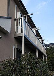東京都大田区中央5丁目の賃貸アパートの外観