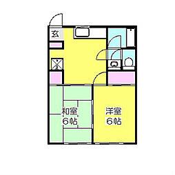 砂子ニューハイム1[1階]の間取り