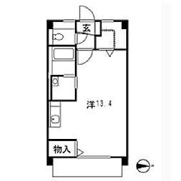 昌栄ビル[4階]の間取り