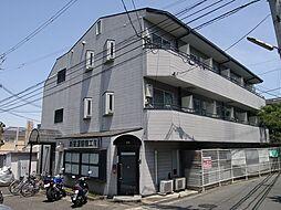 大阪府茨木市豊川4丁目の賃貸マンションの外観