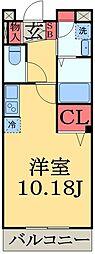 千葉県千葉市中央区南町3丁目の賃貸マンションの間取り