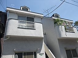東京都練馬区中村北3丁目の賃貸アパートの外観
