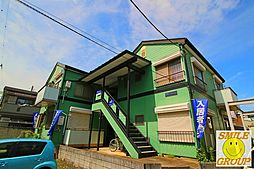 千葉県市川市北国分4の賃貸アパートの外観