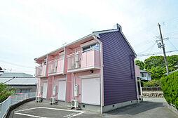 兵庫県姫路市新在家本町3丁目の賃貸アパートの外観