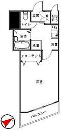 アーバイル東京NEST[3階]の間取り