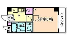 K'S COURT[3階]の間取り