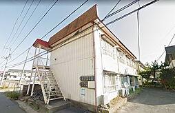 福島県郡山市開成2丁目の賃貸アパートの外観