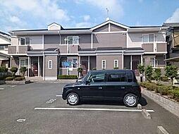 愛知県豊川市八幡町鐘鋳場の賃貸アパートの外観