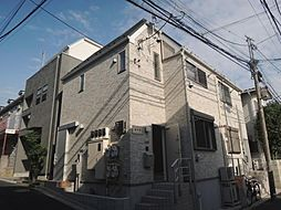 東京都中野区東中野2丁目の賃貸アパートの外観
