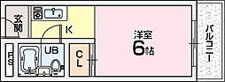 グレース翠香園[1階]の間取り