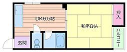 ササイマンション[3階]の間取り