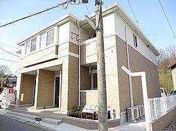 愛知県長久手市岩作東島の賃貸アパートの外観