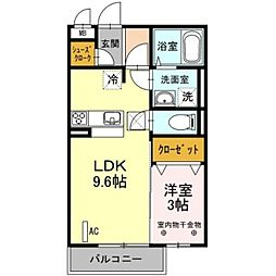 4season[1階]の間取り