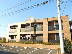 埼玉県坂戸市にっさい花みず木2丁目の賃貸アパートの外観