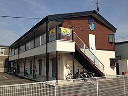 愛知県春日井市下市場町の賃貸アパートの外観