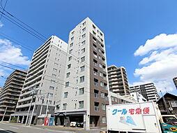 北海道札幌市中央区北二条西13丁目の賃貸マンションの外観