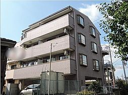 神奈川県川崎市幸区鹿島田3丁目の賃貸マンションの外観